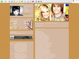 Ashley Tisdale & Zac Efron.